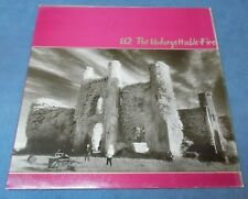U2 - The Unforgettable Fire /. Island Records 1984 France Inner Sleeve LP Bono