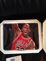 "Michael Jordan ""FEELIN' IT"" BULLS Plate Bradford Exchange UpperDeck NBA"