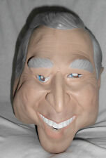 "George W. Bush Latex Mask Full Head Cesar 1999 10"" X 8"" X 11"" Adult Unisex Thick"