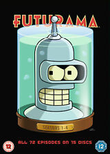 Futurama -Seasons 1-4 Complete (DVD)