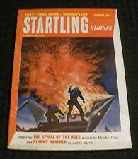 1954 Summer STARTLING STORIES Pulp Magazine v.32 #1 VG+ 4.5 Fletcher Pratt