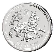 2 oz. Silbermünzen auf Lunar Münzen