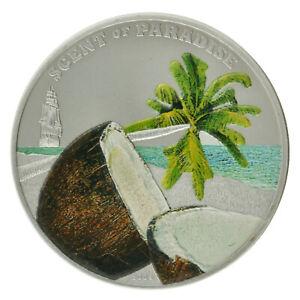 Palau - Silver 5 Dollars Coin - 'Coconut' - 2009 - UNC