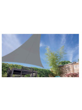 Triangular Extensible Shade Sail - Gray-Super Fast Delivery