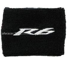 Yamaha R6 YZF Brake Reservoir Socks fluid TANK oil cup cover noir & gris