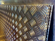 Aluminium Chequer Plate Tread 5 Bar 1 @ 2500 x 1250 x 2mm Cut sizes available