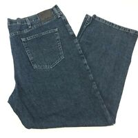 Lee Denim Jeans Mens 42X30 Blue Straight Leg Relaxed Fit 100% Cotton Medium Wash