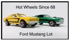 Hot Wheels '70 Mach 1 & '68 Custom Ford Mustang Exclusive Since 68 Redlines RLC