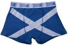 Gents Boxer Shorts Saltire Fashion Design Royal Blue