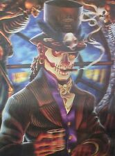 """3D Lenticular Picture Day of the Dead, Dancing and Raven 15 1/2""""x 11 1/2 275"""