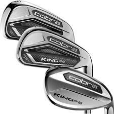 New listing Cobra Golf Men's King F8 Iron Set (6-GW,SW),  Graphite Senior Flex Shafts
