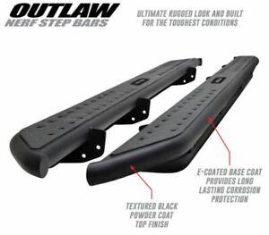 Westin For 19-20 Silverado / Sierra 1500 Black Outlaw Nerf Step Bars - 58-54135