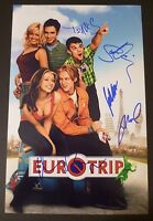 "EUROTRIP Cast(x6) Authentic Hand-Signed ""MATT DAMON"" 11x17 photo (PROOF)"