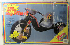"""Nos Vintage Empire Rare Black The Super Big 16"""" Wheel Cycle Tricycle Never Built"""