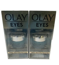 OLAY Eyes Deep Hydrating Eye Gel 0.5 oz lot of 2  6058