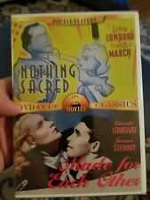 Nothing Sacred/Made for Each Other dvd factory sealed new double feature