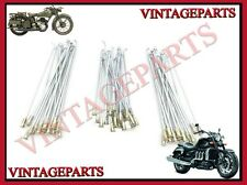 ROYAL ENFIELD FRONT & REAR WHEEL SPOKES AND NIPPLE FOR HALF WIDTH HUB