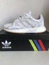 Para Hombre Adidas tresc ejecutar Blanco/Gum Zapatillas UK 8 Para Hombre Zapato de correr