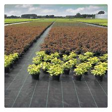 3Ft×300Ft Weed Barrier Fabric Landscape Blocker Fabric Heavy Duty Black Garden