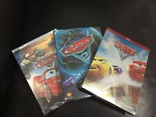 Disney/Pixar Cars 1 Cars 2 Cars 3 Trilogy DVD Set Free Shipping