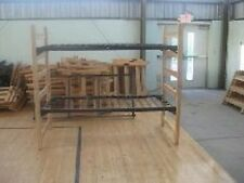 Used Dorm Bunk Beds (Wooden)