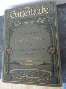 Die Gartenlaube Illustriertes Familienblatt Jahrgang 1906 gebunden