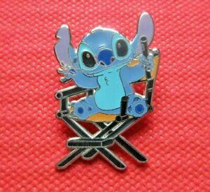 Disney Trading Pin Stitch in Directors Chair Ltd Release Rare
