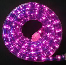 "Purple Rope Light 300Ft 110V 120V 2-Wire 1/2"" Incandescent Bulbs Flexilight"