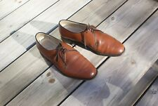 Vintage Gents Brown Leather Lace Up Shoes by Sterling & Hunt Size 8