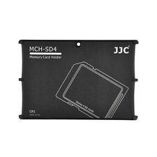 JJC MCH-SD4GR Pocket Credit Card Size Memory Card Holder for 4 SD cards