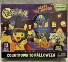 Pokemon COUNTDOWN TO HALLOWEEN Advent Calendar 8 Figures 5 Accessories 2021 NEW