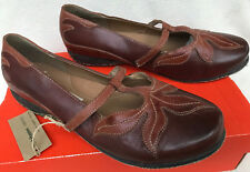 c3ba353d763b Hush Puppies Harmony Organic Recycled Leather Mary Jane Leaf Shoes Women s  10 EW