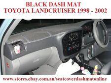 DASH MAT, DASHMAT,DASHBOARD COVER FIT TOYOTA LANDCRUISER 100ser 1998-2002 BLACK