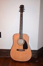 New Fender Fa-100 Dreadnought Acoustic Guitar