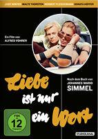 Liebe ist nur ein Wort (Johannes Mario Simmel)                       | DVD | 999