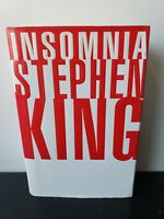 INSOMNIA by Stephen King 1994 1st Edition Viking Hardcover Book w/DJ