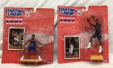 2 STARTING LINEUP BASKETBALL1997 ALLAN HOUSTON & KERRY KITTLES ACTION FIGURE NBA