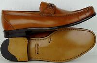 BALLY Schuhe Herren Loafers Leder Monks Mokassins Businesschuhe Braun Gr.43 NEU