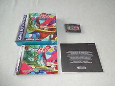 Mega Man Zero 4 GBA Spiel AGB B4ZP-EUU komplett mit OVP und Anleitung