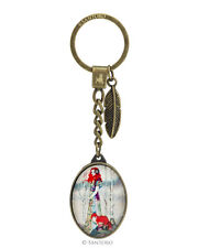 Santoro London Willow Metal And Glass Key Ring The Guide