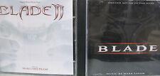 Blade/ Blade II- 2 CDs- Scores by Mark Isham/ Marco Beltrami- Varese Sarabande