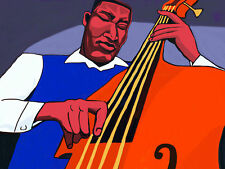 WILBUR WARE PRINT poster jazz double bass the Chicago sound cd monk miles