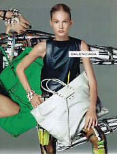 PUBLICITE ADVERTISING  2010   BALANCIAGA  haute couture