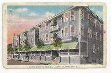 ATLANTIC CITY NJ Miller Cottage Georgia Ave 1941 Vtg PC
