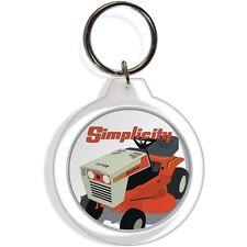 Simplicity 5216 Garden lawn mower rider Farm Tractor Keychain Key Chain Ring