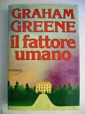 GRAHAM GREENE IL FATTORE UMANO - MONDADORI   ( cc39 )