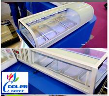 New 48 Sushi Bar Sashimi Seafood Cooler Case Refrigerator Commercial Su48 Nsf