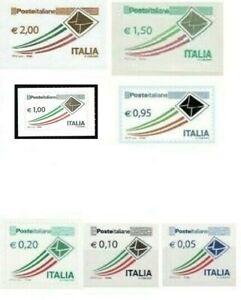 Lottofrancobolli per affrancare sottofacciale in euro nuovi in fogli integri ++