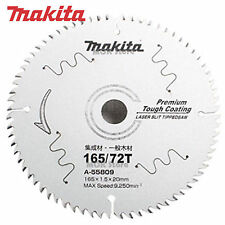 "Makita A-55809 6-1/2"" 9,250rpm 165mm 72T Laser Slit Tipped Circular Saw Blade"