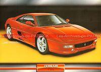 FERRARI F 355 ( F355 ) 1994 : Fiche Auto Collection